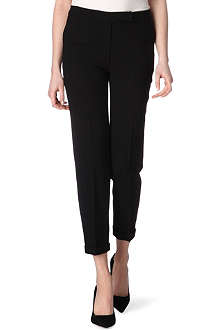 OSMAN Wool-crepe trousers