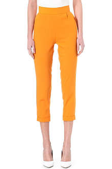 OSMAN YOUSEFZADA High-waisted crepe trousers