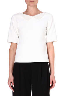 OSMAN YOUSEFZADA Embellished-collar top