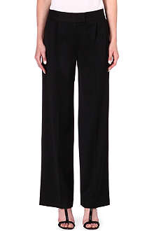 OSMAN YOUSEFZADA Wide-leg wool-blend trousers