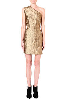 OSMAN YOUSEFZADA Asymmetric metallic dress