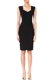ROLAND MOURET Alnair v-neck dress