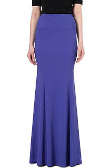 ROLAND MOURET Aries stretch-crepe maxi skirt