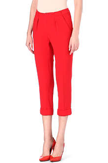 ROLAND MOURET Carillon cropped trousers