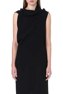 ROLAND MOURET Sleeveless wool top