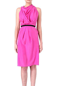 ROLAND MOURET Fairlea silk dress