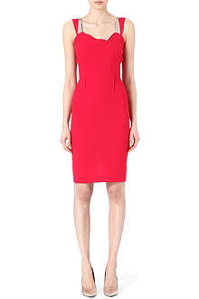 ROLAND MOURET Meissa wool dress
