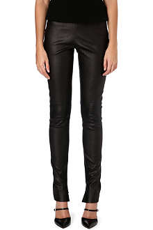 ROLAND MOURET Mortimer leather trousers