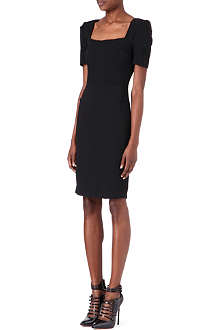 ROLAND MOURET Square-neck dress
