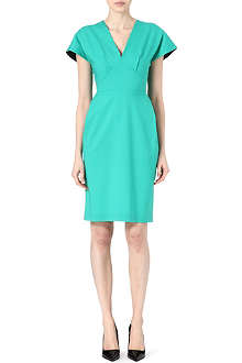 ROLAND MOURET Perseus wool dress