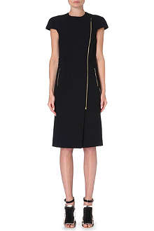 ROLAND MOURET Othius zip-detail dress
