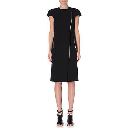 ROLAND MOURET Othius zip-detail dress (Black