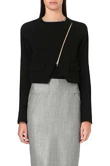 ROLAND MOURET Luciola zip-fastened wool jacket