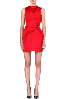 ROLAND MOURET Zonda TTD satin dress