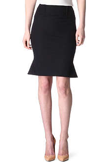 ROLAND MOURET Flared-hem skirt