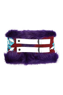 PETER PILOTTO Fluffy collar