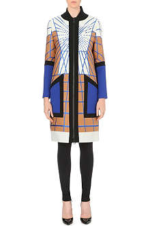 PETER PILOTTO Geometric-embroidered coat