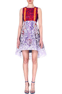 PETER PILOTTO Embroidered floral-lace silk dress