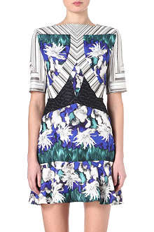 PETER PILOTTO Elizabeth printed silk-blend dress