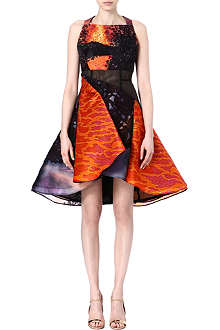 PETER PILOTTO Silk structured dress