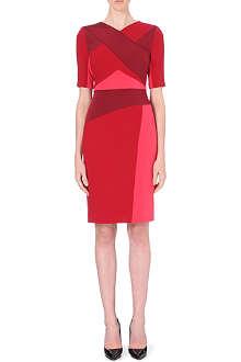 PETER PILOTTO Kia block-coloured wool dress
