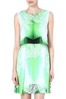 PETER PILOTTO Layered abstract-print dress