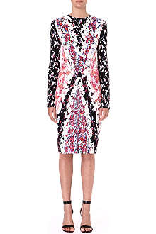 PETER PILOTTO Floral-print stretch-crepe dress