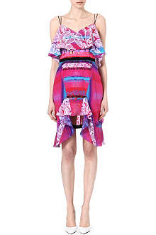 PETER PILOTTO Draped silk dress