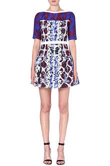 PETER PILOTTO Natalie printed silk-blend dress