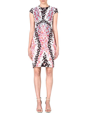 PETER PILOTTO Abstract-print stretch-jersey dress