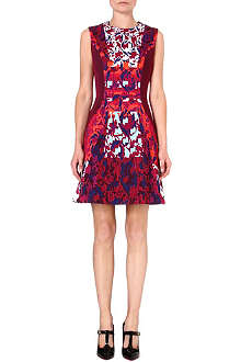 PETER PILOTTO Flared crepe dress