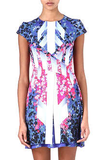 PETER PILOTTO Mira floral-print silk-blend dress