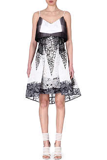 PETER PILOTTO Orchid lace dress