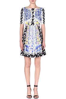 PETER PILOTTO Emilia floral-print silk dress
