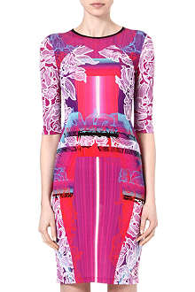 PETER PILOTTO Printed bodycon dress