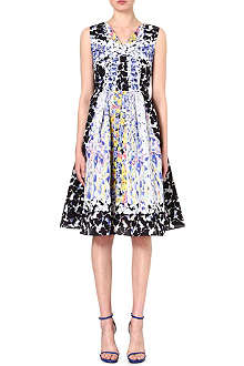 PETER PILOTTO Sleeveless silk-blend dress