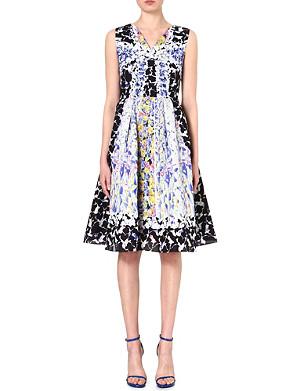 PETER PILOTTO Sleeveless silk-blend dress