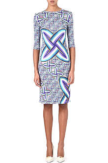 PETER PILOTTO Edie printed stretch-crepe dress