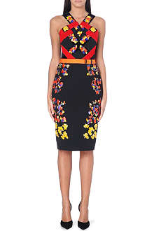 PETER PILOTTO Embellished halter neck dress