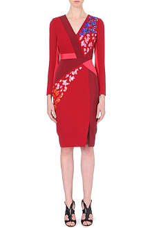 PETER PILOTTO Aro embellished wool-crepe dress
