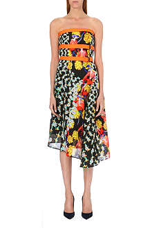 PETER PILOTTO Twisted floral-detail midi dress
