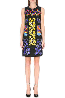 PETER PILOTTO Embellished wool shift dress