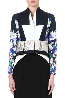 PETER PILOTTO Peplum printed jacket