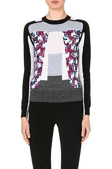 PETER PILOTTO Crew neck knitted jumper