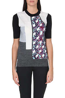 PETER PILOTTO Contrast panel top