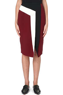 PETER PILOTTO Mila colour-block midi skirt