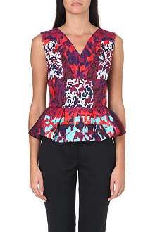 PETER PILOTTO Patterned peplum top