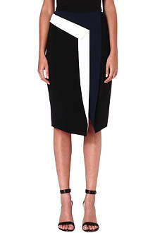 PETER PILOTTO Contrast-detail pencil skirt