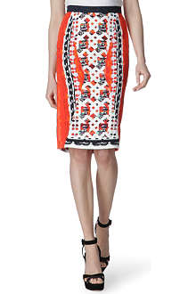PETER PILOTTO Printed pencil skirt