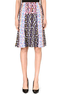 PETER PILOTTO Geometric flare skirt